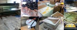 Fabrication  – Multi-matériaux : carton, plastique, métal