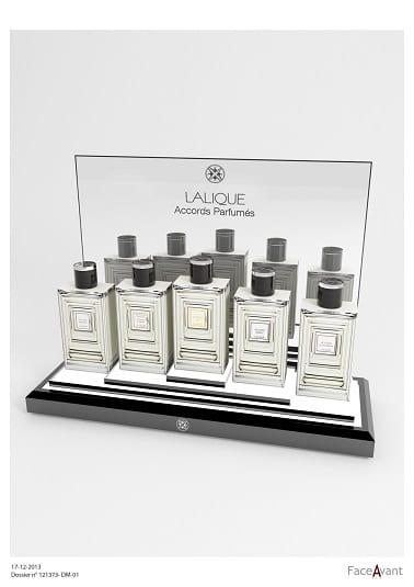 Lalique - Présentoir de comptoir Compositions Parfumées