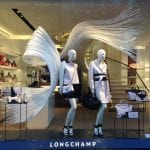 "Decor Vitrine Longchamp ""Movement"""