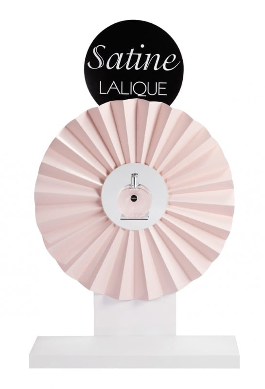 Vitrine Lalique Satiné - Parfums Lalique