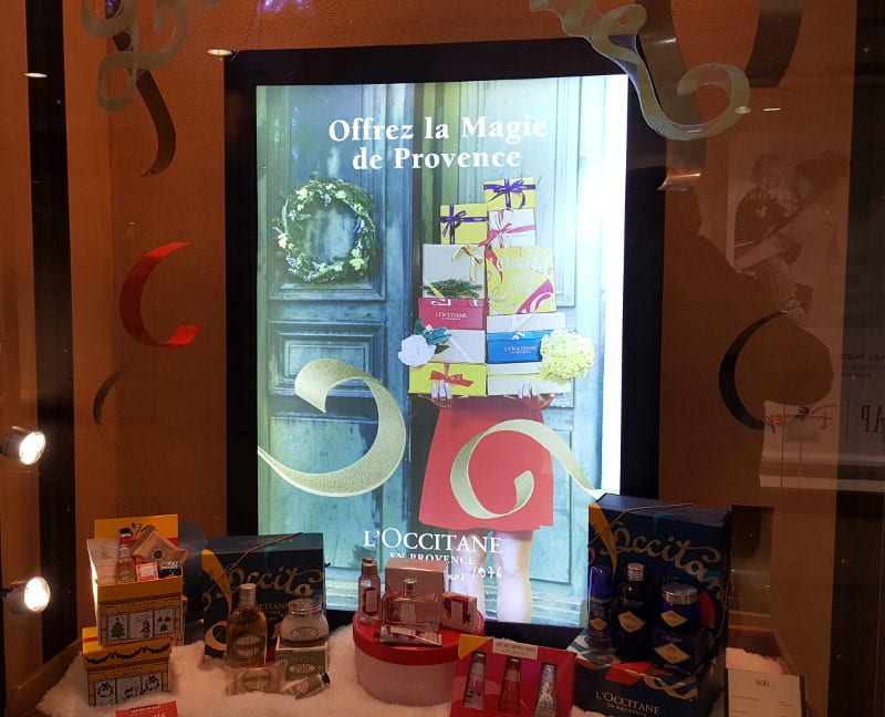 Light Box L'Occitane en Provence