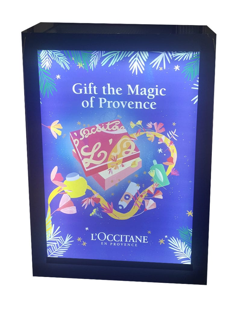 Light Box Occitane Noel 1