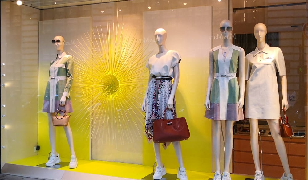 Vitrine Summer Longchamp
